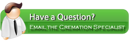 Email cremation specialist with questions